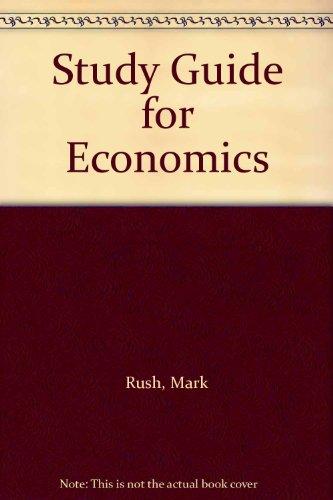 9780321608734: Study Guide for Economics