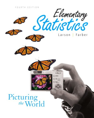 9780321608918: Elementary Statistics: Picturing the World Value Package (includes MyMathLab for WebCT Student Access Kit)