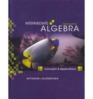 9780321609687: Intermediate Algebra: Concepts and Applications Plus MyMathLab Student Access Kit (8th Edition)