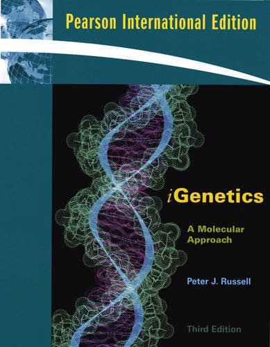 9780321610225: IGenetics: A Molecular Approach
