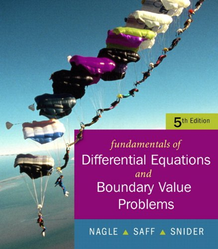 9780321613219: Fundamentals of Differential Equations with Boundary Value Problems with IDE CD (Saleable Package) (5th Edition)