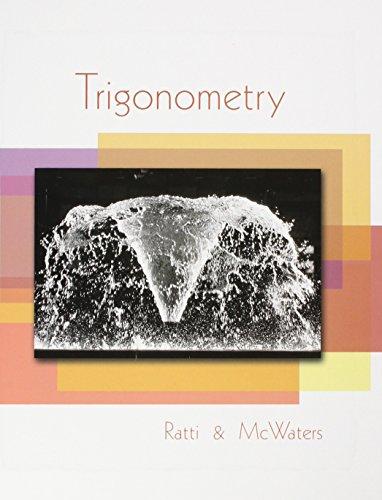 Trigonometry Plus MyMathLab Student Access Kit: J. S. Ratti;