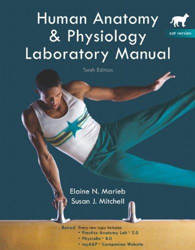 9780321616128: Human Anatomy & Physiology Laboratory Manual, 10th Edition