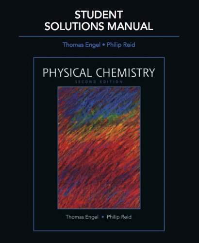 9780321616265: Student Solutions Manual for Physical Chemistry