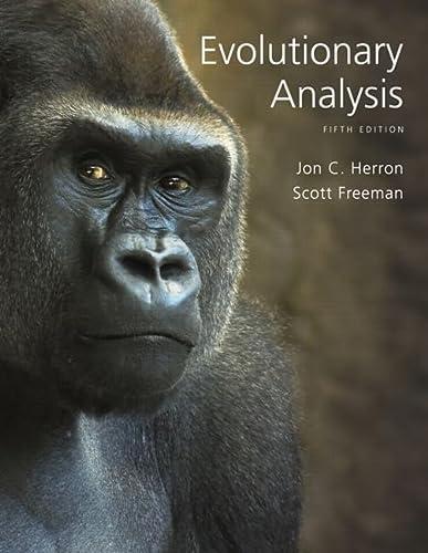 9780321616678: Evolutionary Analysis (5th Edition)