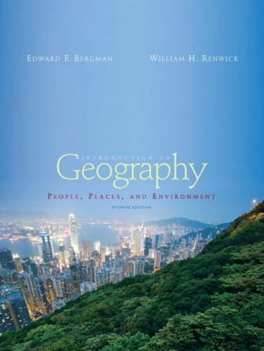 9780321616722: Books a la Carte for Introduction to Geography: People, Places and Environment (4th Edition)