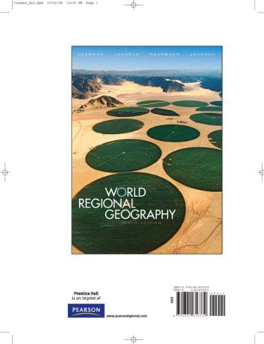 Books a la Carte for World Regional Geography (9th Edition): David L. Clawson