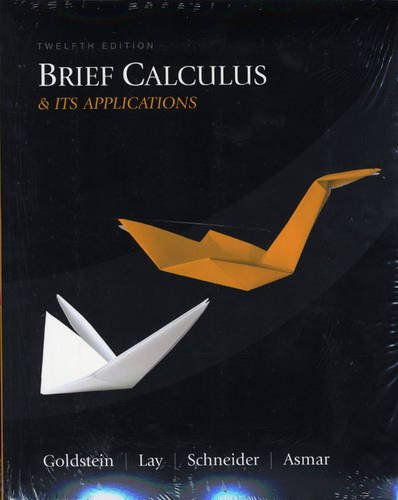 9780321616999: Brief Calculus and Its Applications Plus MyMathLab Student Access Kit (12th Edition)