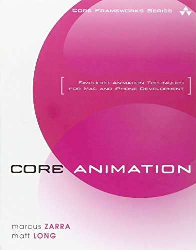 9780321617750: Core Animation: Simplified Animation Techniques for Mac and iPhone Development (Core Frameworks)