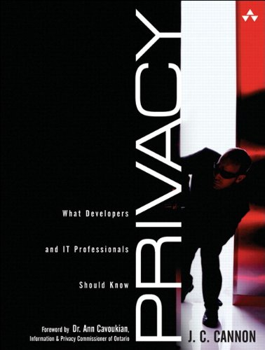 9780321617774: Privacy: What Developers and IT Professionals Should Know (paperback)