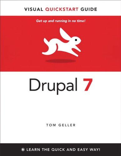 9780321619211: Drupal 7: Visual QuickStart Guide