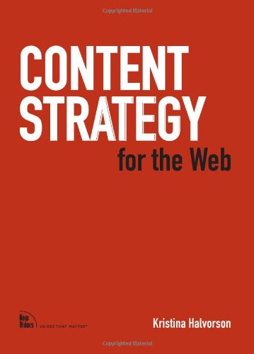 9780321620064: Content Strategy for the Web (Voices That Matter)