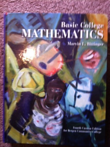 9780321622860: Basic College Mathematics Annotated Instructor's Edition