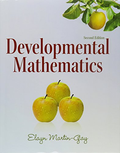 9780321624413: Developmental Mathematics plus MyLab Math/MyLab Statistics Student Access Code Card (2nd Edition)