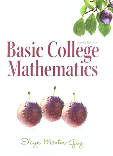 Basic College Mathematics / (4th Edition) [Nov