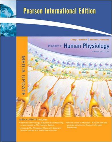 9780321625007: Principles of Human Physiology