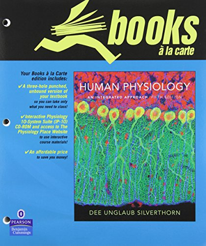 9780321626103: Books a la Carte for Human Physiology: An Integrated Approach (5th Edition)