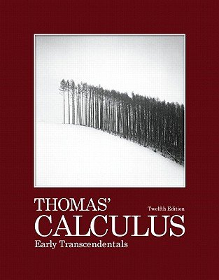 9780321627186: Thomas' Calculus Early Transcendentals Instructor's Edition 12th Ed.