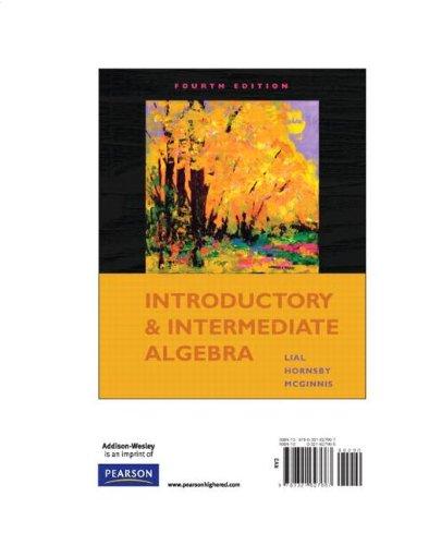 9780321627667: Introductory and Intermediate Algebra, Books a la Carte Edition (4th Edition)