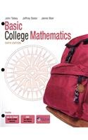 9780321627889: Basic College Mathematics, A La Carte + MyMathLab (6th Edition)