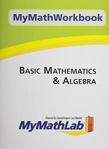 MyMathWorkbook for Basic Mathematics & Algebra: Education, Pearson