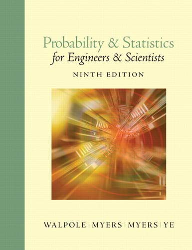 9780321629111: Probability and Statistics for Engineers and Scientists (9th Edition)