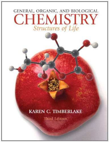 9780321630711: General, Organic, and Biological Chemistry: Structures of Life with MasteringChemistry with Pearson eText Student Access Code Card (3rd Edition)