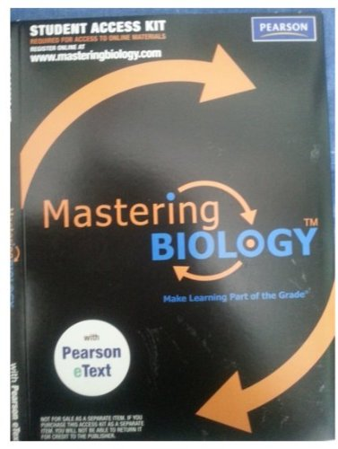 9780321633934: Masteringbiology(tm) with Pearson Etext Student Access Kit for Biology