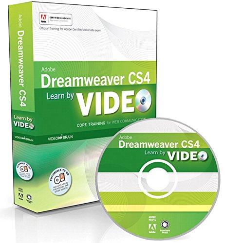 9780321635013: Learn Adobe Dreamweaver CS4 by Video: Core Training for Web Communication