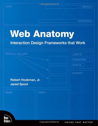 9780321635020: Web Anatomy: Interaction Design Frameworks That Work (Voices That Matter)