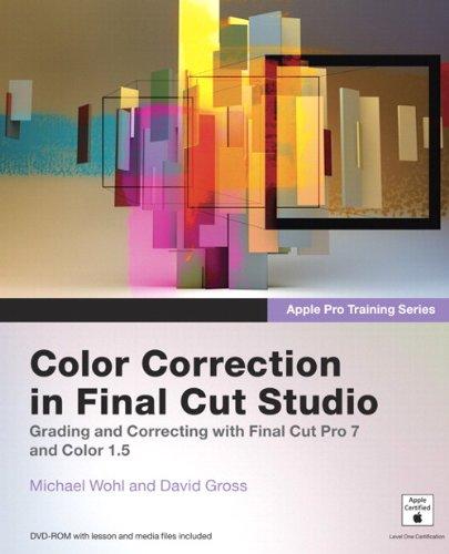 9780321635280: Apple Pro Training Series: Color Correction in Final Cut Studio