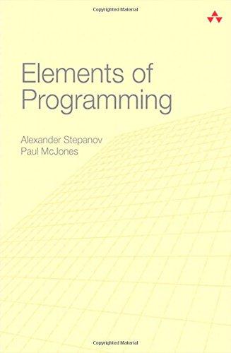 9780321635372: Elements of Programming