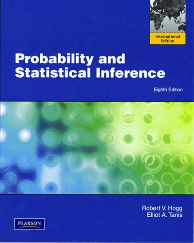 9780321636355: Probability and Statistical Inference