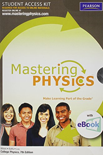 9780321636638: MasteringPhysics with Pearson eText Student Access Kit for College Physics (7th Edition)