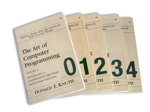 9780321637130: The Art of Computer Programming: Vol 4, Fascicles 0-4