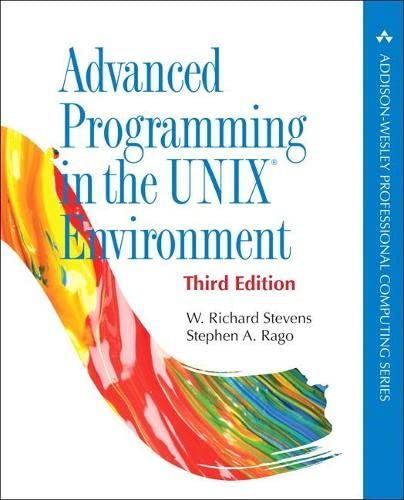 9780321637734: Advanced Programming in the UNIX Environment, 3rd Edition