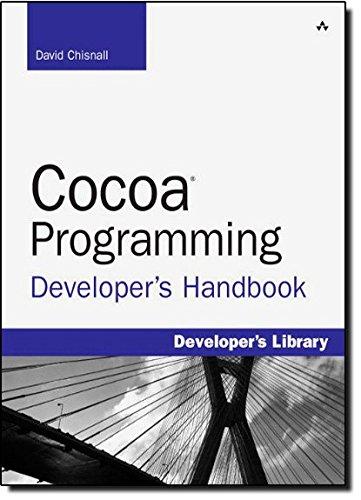 9780321639639: Cocoa Programming Developer's Handbook (Developer's Library)