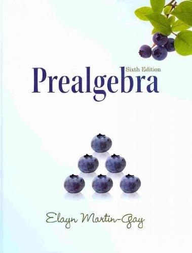 9780321640086: Prealgebra (Hardcover) (6th Edition)