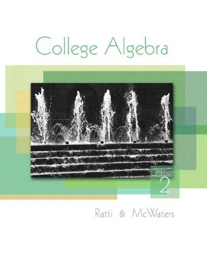 9780321640314: College Algebra (2nd Edition)