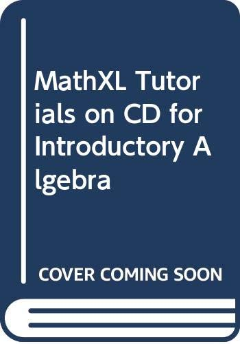 9780321640642: MathXL Tutorials on CD for Introductory Algebra