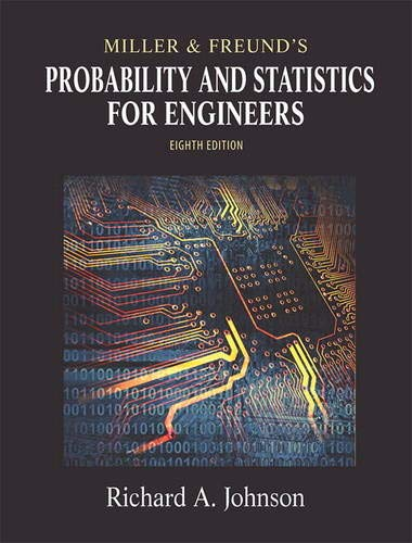 9780321640772: Miller and Freund's Probability and Statistics for Engineers