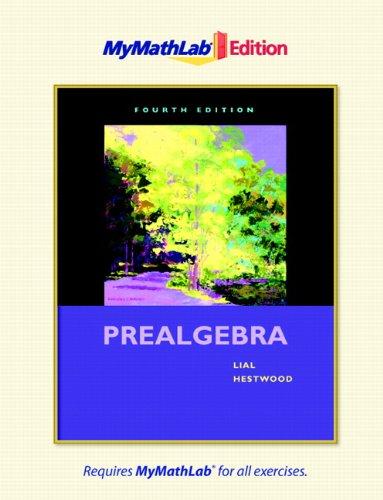 9780321641182: Prealgebra, The MyMathLab Edition (4th Edition)