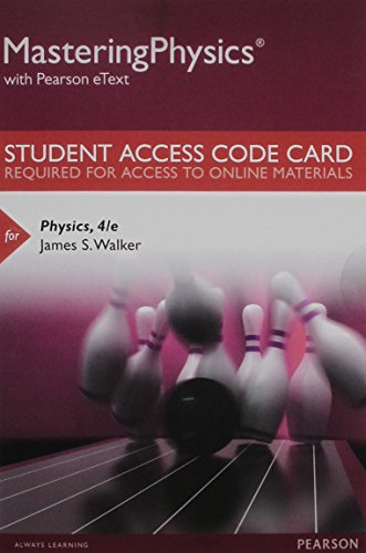 MasteringPhysics with Pearson eText Student Access Kit: James S. Walker