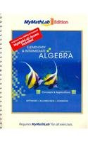 9780321641359: Elementary and Intermediate Algebra: Concepts and Applications, The MyMathLab Edition Package (5th Edition)