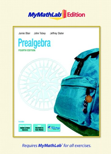 9780321641403: Prealgebra, The MyMathLab Edition (4th Edition)