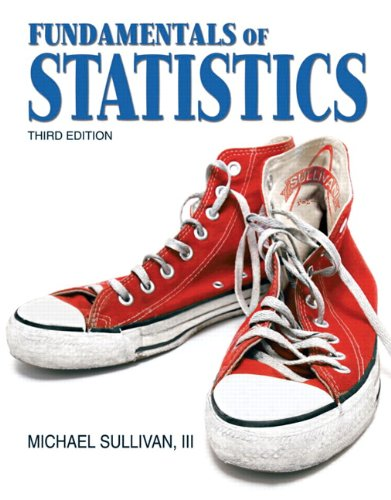 9780321641878: Fundamentals of Statistics (3rd Edition) (Sullivan Statistics Series)