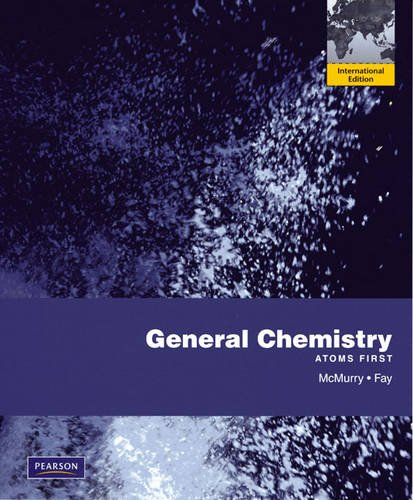 9780321643124: General Chemistry: Atoms First: International Edition