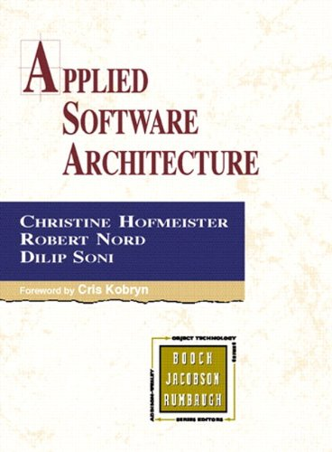9780321643346: Applied Software Architecture (paperback)