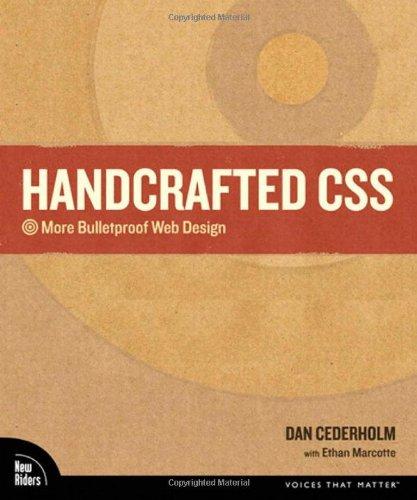 9780321643384: Handcrafted CSS: More Bulletproof Web Design