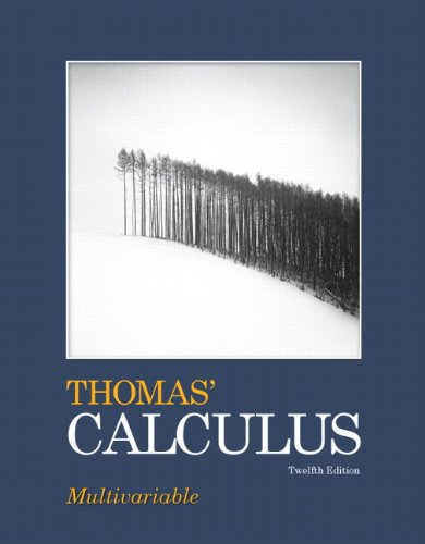 9780321643698: Thomas' Calculus, Multivariable (12th Edition)